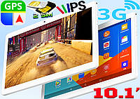 Планшет телефон Samsung S10, 12 ядер, 10.1'', 4Gb RAM / 16 Gb Rom, GPS, 2 sim, 3G + чехол клавиатура в подарок
