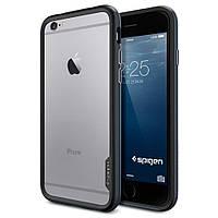 Бампер (ОРИГИНАЛ) SGP Neo Hybrid EX Series Iphone 6/6S (Metal Slate), фото 1
