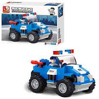 Детский конструктор SLUBAN M38-B 0183, полиция, 121 деталь