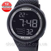 Кварцевые спортивные часы Xonix (100m) - гарантия 12 месяцев