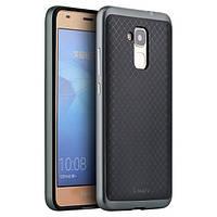 Чехол - бампер iPaky (Original) для Huawei Honor 7 - серый