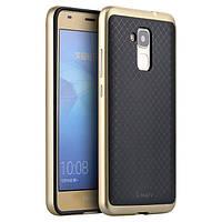 Чехол - бампер iPaky (Original) для Huawei Honor 7 - золотой