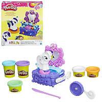 "Набор для творчества с пластилином Play-Doh «Туалетный столик Рарити"" B3400 Hasbro"