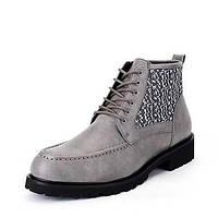 Для мужчин Ботинки Для трейлраннинга Удобная обувь Модная обувь Кожа Замша Весна Лето Осень Зима Повседневные Для вечеринки / ужина 05541819