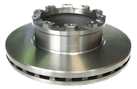Диск тормозной  на оси типа B9 (430 мм) (оригинал SAF) 4079001701