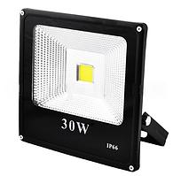 Прожектор светодиодный матричный SLIM YT-30W SMD, 2700Lm, IP66 (влагозащита) - 30 LO