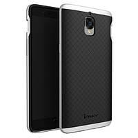 Чехол - бампер iPaky (Original) для OnePlus 3 / OnePlus 3T - серебряный