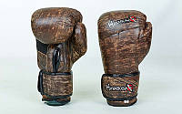 Перчатки боксерские кожаные на липучке HAYABUSA KANPEKI  , фото 1