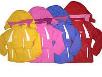 Лыжная куртка 2 в 1 (куртка + флисовая кофта) для девочек, Glo-Story, 92/98-128, арт. GMA-4048