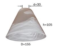 Плафон для люстры P-151-6 E14