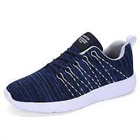 Мужская спортивная обувь весна лето комфорт саржа тюль спортивного случайной шнуровкой бег 05675109