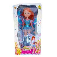 Кукла Большая 60 смФея Winx Винкс (Волшебница с крыльями) на батарейках825