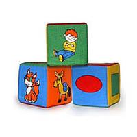 Набор мягких кубиков 3 шт. 125