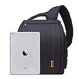 Сумка-рюкзак Caden D8 для дзеркальних фотоапаратів Nikon, Canon, Sony, Pentax - Black, фото 2