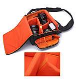Сумка-рюкзак Caden D8 для дзеркальних фотоапаратів Nikon, Canon, Sony, Pentax - Black, фото 7