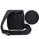 Сумка-рюкзак Caden D8 для дзеркальних фотоапаратів Nikon, Canon, Sony, Pentax - Black, фото 3