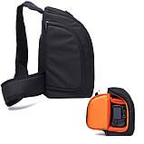 Сумка-рюкзак Caden D8 для дзеркальних фотоапаратів Nikon, Canon, Sony, Pentax - Black, фото 4