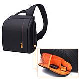 Сумка-рюкзак Caden D8 для дзеркальних фотоапаратів Nikon, Canon, Sony, Pentax - Black, фото 5