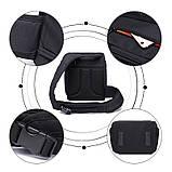 Сумка-рюкзак Caden D8 для дзеркальних фотоапаратів Nikon, Canon, Sony, Pentax - Black, фото 8