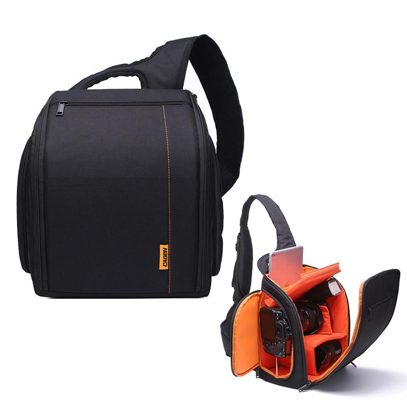 Сумка-рюкзак Caden D8 для дзеркальних фотоапаратів Nikon, Canon, Sony, Pentax - Black