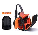Сумка-рюкзак Caden D8 для дзеркальних фотоапаратів Nikon, Canon, Sony, Pentax - Black, фото 10