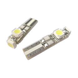 Белая светодиодная автолампа Т5, 3pcs 1210 circuit