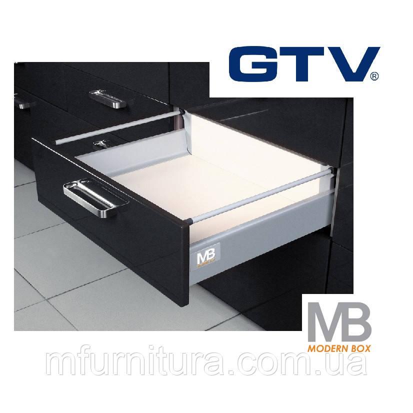 Висувний ящик Modern Box, 500 мм - середній, сірий - GTV (Польща)