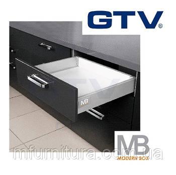 Выдвижной ящик Modern Box, 400 мм - низкий, серый - GTV (Польша)