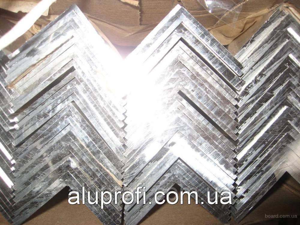 Уголок алюминиевый 50х50х6.5 мм АД31Т