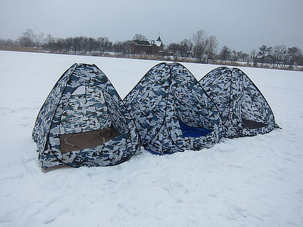 Зимняя платка  2х2 м. самораскрывающаяся, качественная, надежная, фото 2