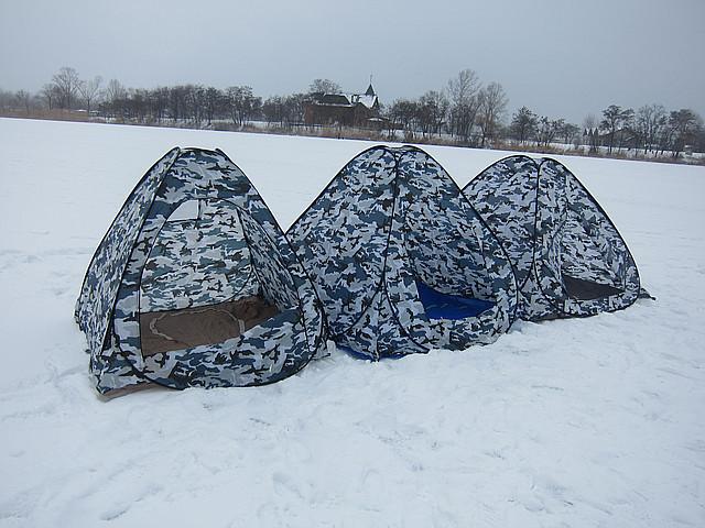 Зимняя платка  2х2 м. самораскрывающаяся, качественная, надежная