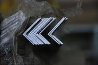 Уголок алюминиевый 20х8х2мм АД31