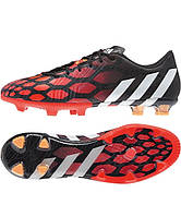 Футбольные бутсы adidas Predator Instinct FG - Black/Running White/Infrared