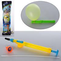 Шарики MK 0721, для игры с водой, 50 шт. в кульке, насос для пластиковой бутылки, 10-36-3 см,