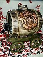 Керамический бочонок Герб