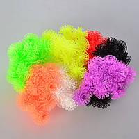 Набор для творчества MK 0948, конструктор-липуч, Banchems, 200 шт., микс цветов, в кульке, 15-10-4 см
