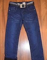 Утеплённые джинсы на флисе для мальчиков, фото 1