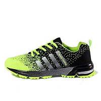 Беговая обувь Черный / Зеленый / Красный Обувь Мужской Тюль 04127951