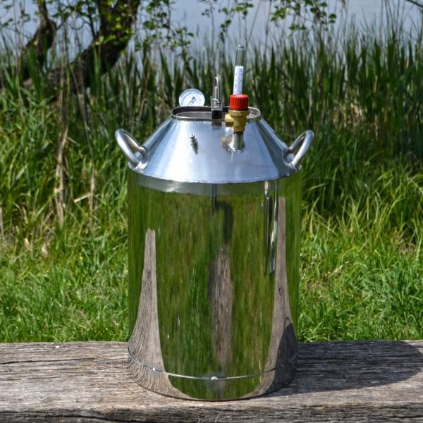 Автоклав бытовой МЕГА 30 пол.литр., из нержавеющей стали для домашнего консервирования
