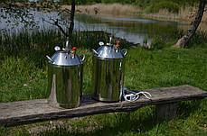 Автоклав бытовой МЕГА 30 пол.литр., из нержавеющей стали для домашнего консервирования, фото 2