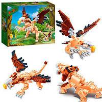 Детский конструктор BANBAO 6853, динозавр, 3в1, 295 деталей