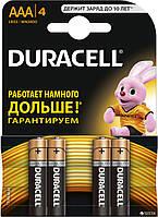 Батарейка Duracell AAA LR03 (минипальчик) 4/40/960шт