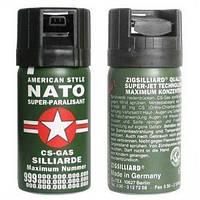 Газовый баллончик NATO спецназ, 30мл, для самообороны