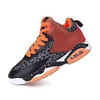Мужская обувь коровьей спортивная обувь баскетбол волшебная лента черный / синий / красный 05152587