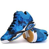 Для баскетбола Черный / Синий / Красный Обувь Мужской Синтетика 04901622