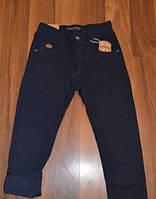 Утепленные коттоновые брюки для мальчиков. Размеры 116-146
