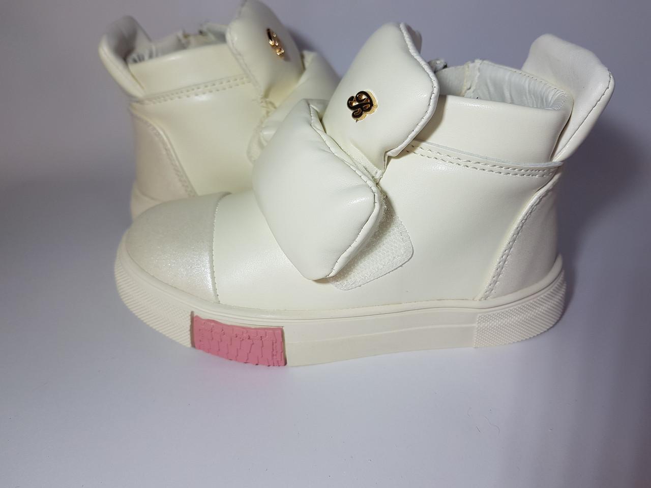 3c90c6b5d Стильные весенние ботинки для девочки 25 - 30 размеры - KINDERTORG в Днепре