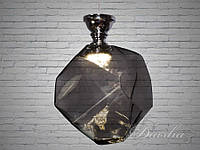 Диодная люстра Loft с тонированным стеклом 550-1GR