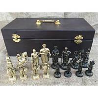 Эксклюзивные шахматы из бронзы