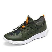 Мужской спортивная обувь весна лето комфорт ткань спортивная случайная шнуровка ходьба 05675100